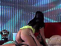 Christina Aguchi and Savannah Stern in Hustler's Lesbian Fantasies (Scene 2)