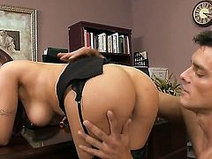 Amy Ried and Ramon are going to have unforgettable fun together and you should see them spending great time together to become excited. They have oral and vaginal screw.