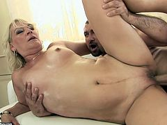 Dude, are you seeking for pleasure? Then press play and enjoy 21 Sextury xxx clip. Horn-mad booty and pale blondie goes wild. She rides a stiff dick and gets her mature cunt drilled from behind tough.