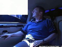 Cum addicted black haired gal wears stockings and short tight black dress. Spoiled gal with natural tits desires to give a solid blowjob for sperm right in the limo. You surely need to check out this lewd nympho in Pornstar sex clip to jack off for satisfaction.