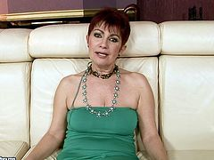 This short haired old housewife is still a great cowgirl. Wondrous pale slut with droopy tits doesn't miss a chance to ride a fresh strong dick to get her wet hairy cunt polished properly. Check her out in 21 Sextury xxx clip if you wanna jizz at once.