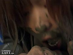 If you love to see girls wrestling, look no further, just cum inside and check out this super hot scene of asian mud wrestling where two asian hotties fight and get a bit kinky.