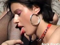 Sexy feet lesbian sluts on camera are compiled for one horny video that will make you want to join them in their fetish adventures. All their moves will lavish you with so much pleasure.