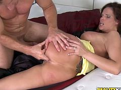 Having sex with a MILF like Syren Demer is one of the best things that can happen to you. She's sexy, lusty and knows stuff.