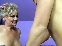 Welcome to enjoy too different but surely hot lesbians in steamy 21 Sextury xxx clip. Obese pale oldie with droopy tits makes blond cutie with pigtails get rid of shorts and top. Then she plays with her sweet tits and desires to get her mature cunt licked.