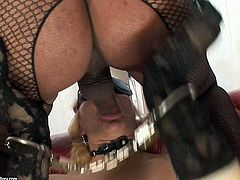 Busty ladyboy harlot enjoys hot mouth hole of one mature bitch. She trusts dick deep in her throat and reaches her tonsils. Watch exciting 21 Sextury shemale sex tube scene.