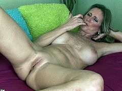 A mature whore gets naked and performs a hot solo scene hit play and check it out right fucking here, yo! It's pretty fucking cool!