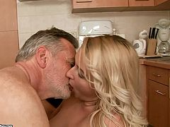 Dude, don't even hesitate to check out this steamy 21 Sextury xxx clip. Torrid booty blondie rides gaffer's strong dick for orgasm. Appetizing curvy chick is surely the hottest cowgirl ever.