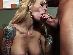 Alan Stafford ravages his P.O Sarah Jessie