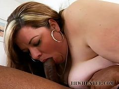 Make sure yu have a look at this hardcore video where this slutty blonde BBWget nailed by a big black cock.