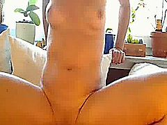 Masochistic amateur slut fucks her cavernous pierced vagina with extremely large vegetables