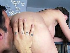Nice sex scene with adorable and so sweet-looking diva Brooklyn Chase would bring a lot of delight to you. Girlie gonna give fellatio and titjob before sex in doggie.