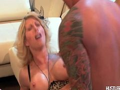 Aunt Corrine has different ideas and gets Uncle Bob to take a load off- a load of cum onto her face
