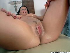 Sensual blowjob and some hot doggy style with Sara Stone