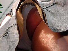 Sweet upskirt with unknown model