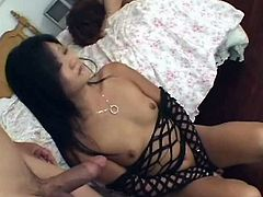 These exotic Asian girls are two of the horniest chicks you'll ever see. They have small perky tits and juicy snatches. Press play and I'm kinda sure these chicks will get your dick hard in a blink!
