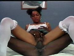 Black schoolgirls are so hard to find, make sure not to miss this one get her tight asshole plowed! Enjoy this hot ebony babe named as Chocolate gets her hairy pussy eaten before getting her both holes fucked hard by huge black cock.