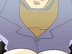 Shemale hentai with huge melon boobs gets ringed in her bigcock and sucked movies by www.grabhentai.com