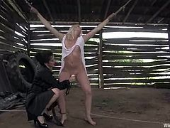Just look at this sassy honey Erika Angel! She is so fucking naughty and babe loves, when Princess Donna Dolore gives her some pain!