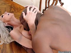 Emma Starr with big melons and clean cunt makes Prince Yahshuas sexual fantasies cum true