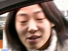 Asian Kim Soo Shows Her Cunt In Car B4 POV Fuck