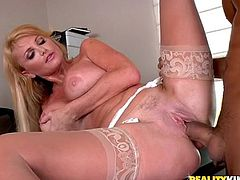 Dude with big dick fucks a nasty milf with big tits in this awesome hardcore fuckin' scene right here, check it out! It's fuckin' hot!