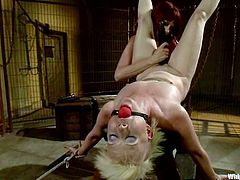 What a wild and hardcore femdom this is! Girls love performing in a BDSM and this is one with two juicy porn actresses.