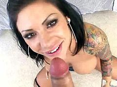 Tattooed Beauty With Big Tits Mason Moore In Intense Sex