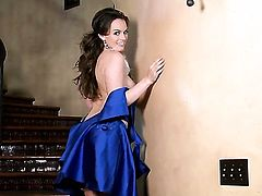 Tori Black gives a closeup of her love box as she masturbates