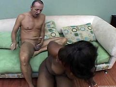 Busty black chick gets her chocolate pussy drilled hard in missionary style. She masturbates her pussy for the best ever orgasmic effect. Enjoy Fame Digital sex tube video.