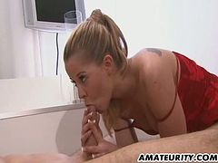 A naughty amateur Milf homemade anal hardcore action with facial cumshot ! Her friend is watching ! Hot...