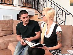 Emma Mae gets seriously pounded by hot man