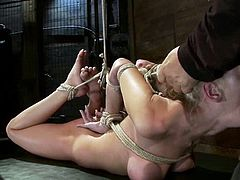 Kaylee Hilton knows how to play a sex slave, standing all the humiliation and doing her best to satisfy her master! Her mouth did a great job!
