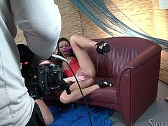 Fame Digital performs you one another behind the scenes sex video featuring two salacious brunettes are licking and sucking each others nipples.