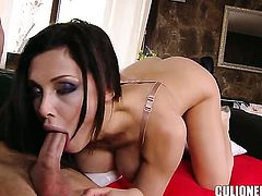 Aletta Ocean with big butt stick his tool in her ass
