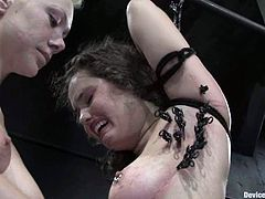This is a real amazing lesbian BDSM story, featuring two delightful sirens. Charlotte Vale is a sex slave and her master is Samantha Sin!