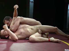 Moreover they are wrestlers. What can be worse that a gay wrestler? So they meet each other and start fucking so damn hard!