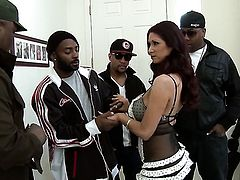 Milf and her man are so fucking horny in interracial action