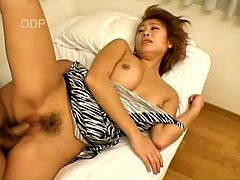 Pussy plays with a lusty Asian sex doll Sayaka Sugano