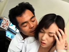 Sexy asian nurse gets horny part2