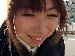 SexJapanTV brings you an intense free amateur voyeur video where you can see how a naughty Japanese belle shows her panties while having a walk on the street.