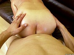 Watch her getting penetrated in her butthole by her neighbour's son who love to fuck old ladies with his big cock in 21 Sextury sex clips.