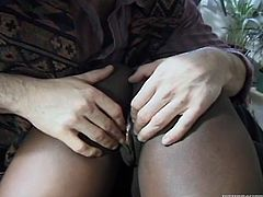 Watch this dark chocolate ass getting fucked by her friend's large and fat cock in her bedroom in Fame Digital sex clips.
