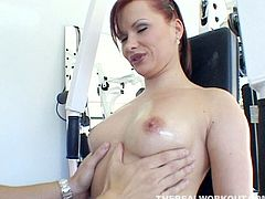 Be ready for one another hot pussy licking sex tube video produced by Team Skeet porn site. Sexy red haired slut spreads her legs wide and enjoys pussy eating by handsome guy.