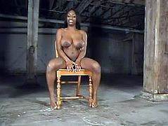 Jada Fire gets pulled by the nipples and beaten with a stick