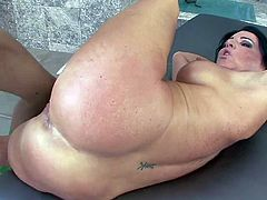 Hard pussy fucking with hot milf Kendra Secrets