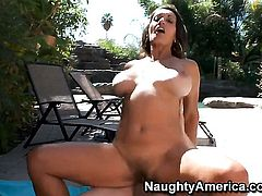 Persia Monir with bubbly ass is the one hot dude Anthony Rosano loves to fuck