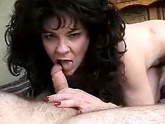Cock Sucking Is Her Specialty Before That Stud Fuck Her