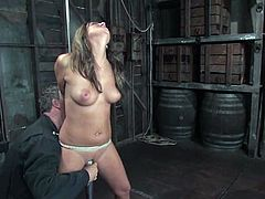 Carmen McCarthy gets the best orgasm in her life in BDSM scene