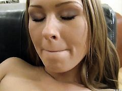Antonya is in the mood for fucking and spreads for horny guy Rocco Siffredi